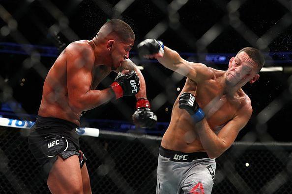 UFC 241 Diaz vs Pettis