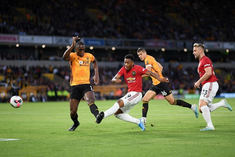 An enthralling game saw the spoils shared between Wolves and Manchester United Traore vs Manchester United - Premier League