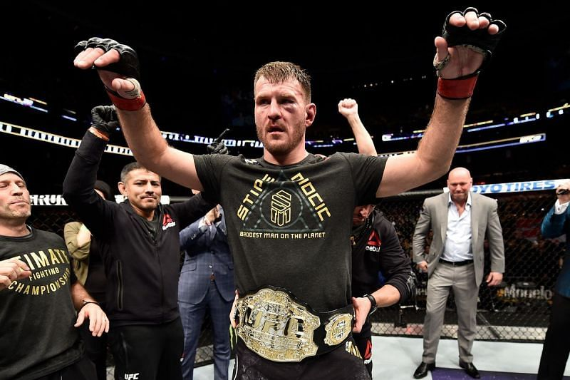 Stipe Miocic is the new UFC Heavyweight Champion