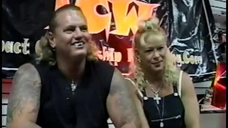 The Vampire Warrior faced off against his own wife as part of the Australian promotion WWA.