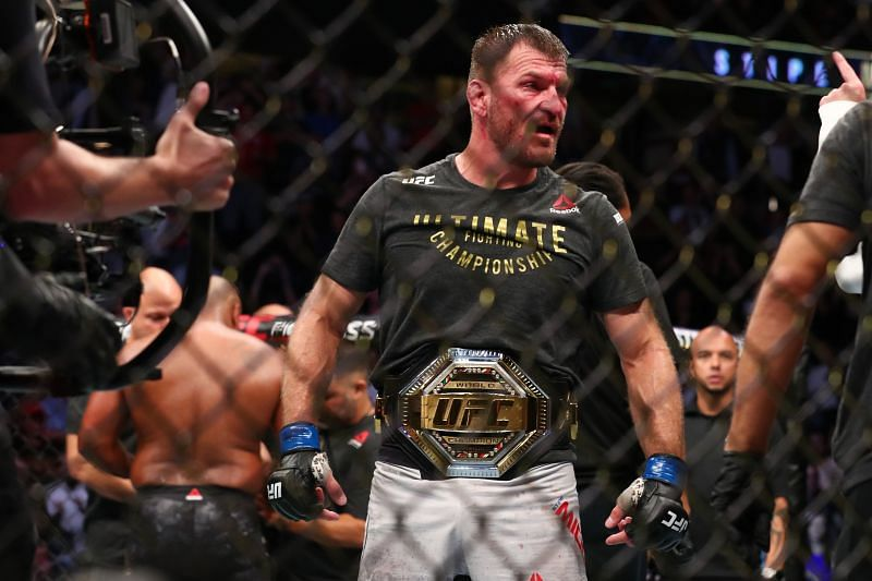 Miocic has now won 5 Heavyweight title fights in the UFC - just one behind the legendary Randy Couture