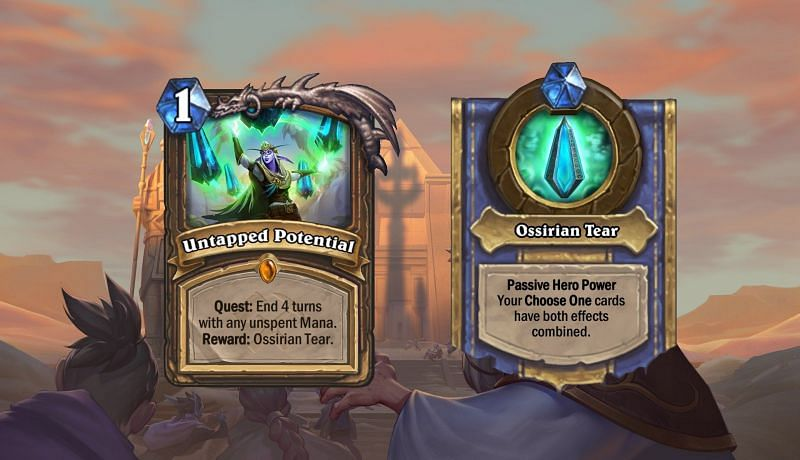 Image result for ossirian tear hearthstone