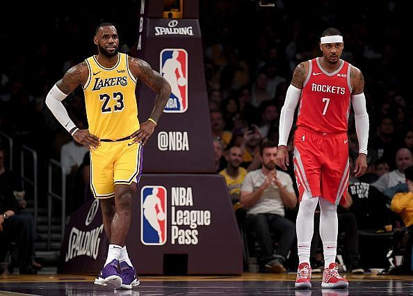 Carmelo Anthony has been backed to make a return to the NBA following an underwhelming spell in Houston