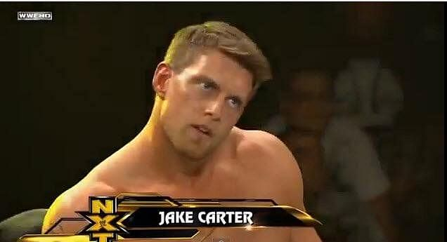 Jake Carter, son of WWE legend Vader