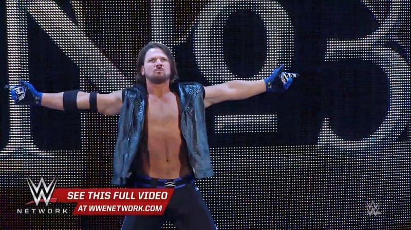 AJ Styles makes his debut