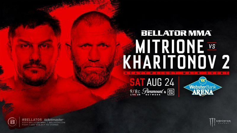 Matt Mitrione and Sergei Kharitonov rematch in Bellator this weekend