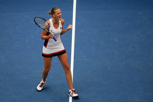 Karolina Pliskova made it to the finals of the US Open back in 2016.