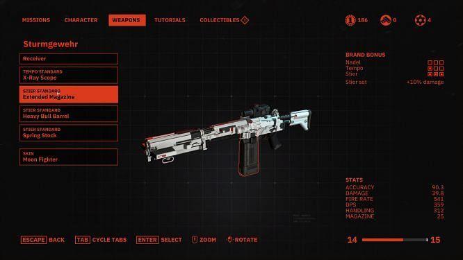 weapon customization