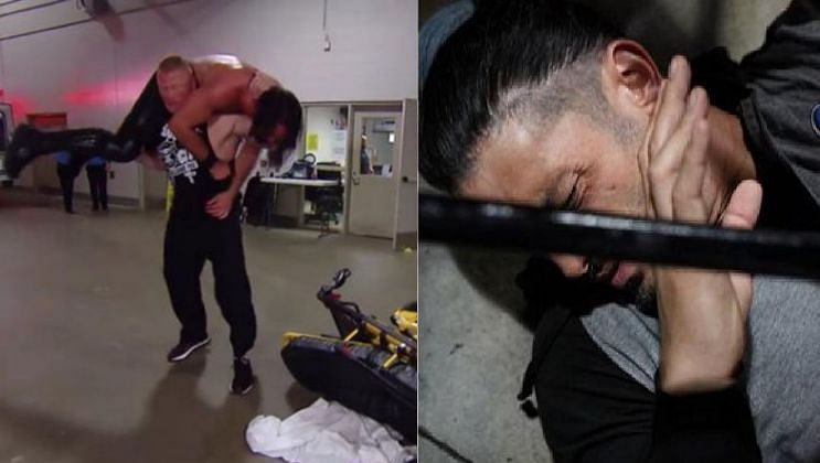 There were a number of interesting botches and mistakes this week in WWE