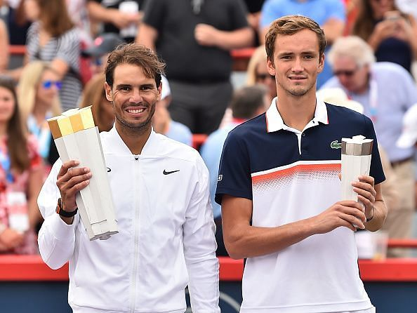 In his first Masters final, Medvedev comes up second best against Nadal at 2019 Montreal