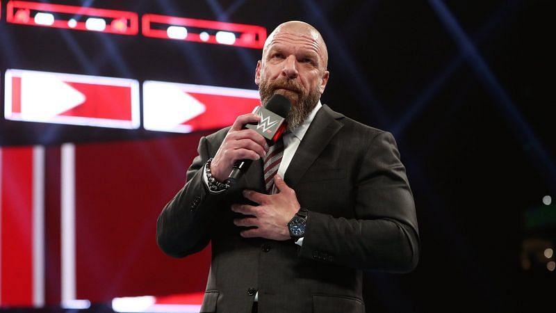 WWE NXT की कमान ट्रिपल एच के हाथों में है