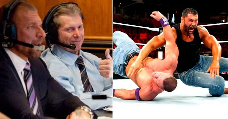 Vince McMahon has pushed some Superstars before they were ready