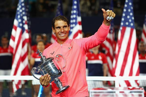 2017 US Open Tennis Championships -Rafael Nadal