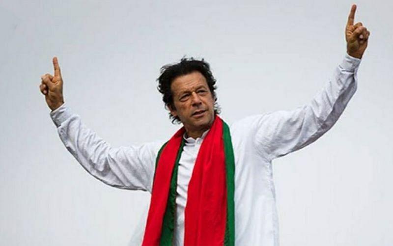 Pakistan cricketer Imran Khan as Pakistan