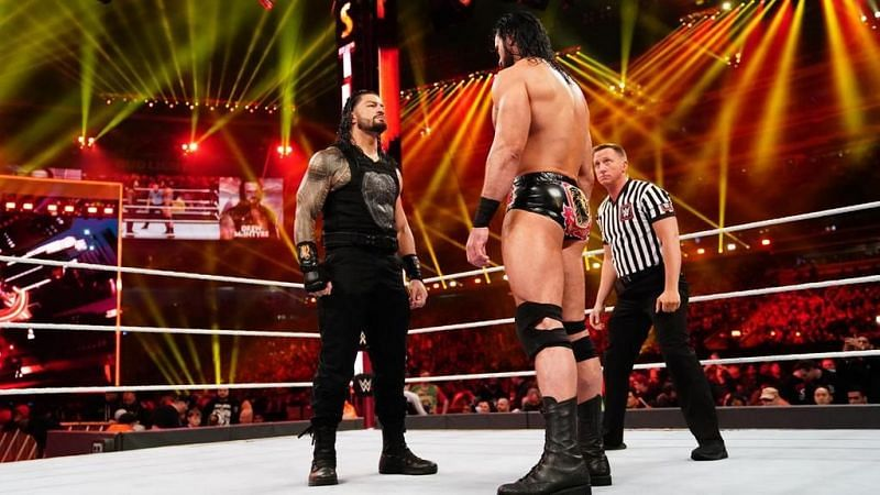 McIntyre vs Reigns