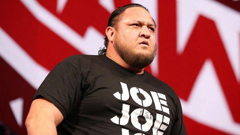 Samoa Joe has been a heel for 2 and a half years