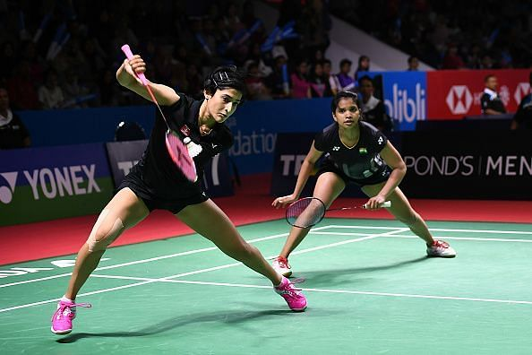 Ashwini Ponnappa and Sikki Reddy take on Korean combine of Baek Ha Na and Jung Kyung Eun in the final