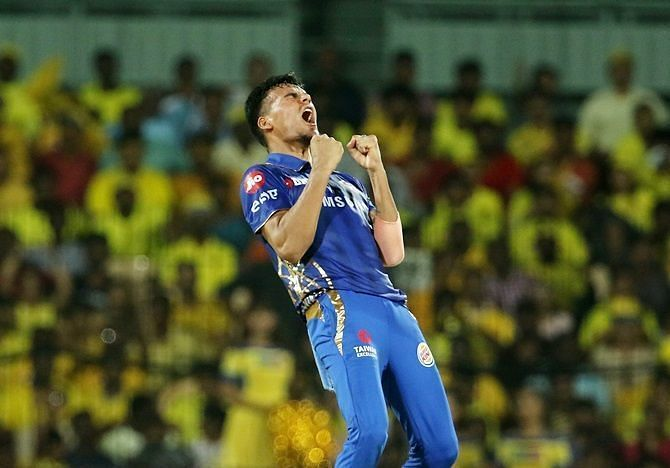 Rahul Chahar has risen to the ranks quite swiftly