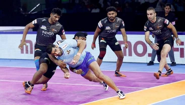 U Mumba defeated Tamil Thalaivas in the heated encounter
