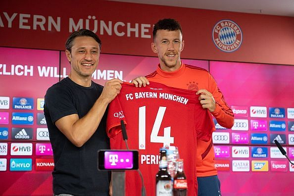 FC Bayern Muenchen Unveil New Signing Ivan Perisic