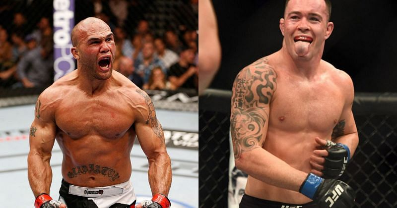 Robbie Lawler and Colby Covington.