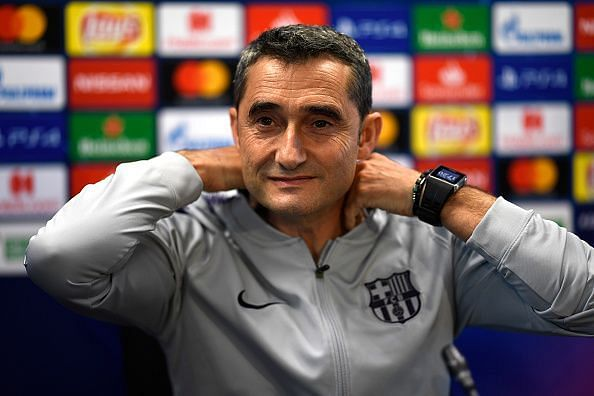Ernesto Valverde would be happy with his team