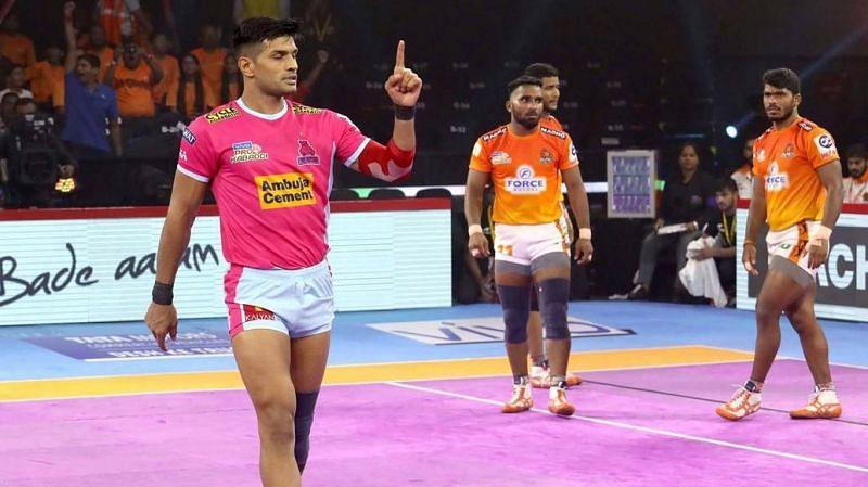जयपुर पिंक पैंथर्स के कप्तान दीपक हूडा