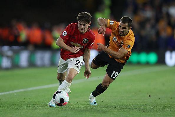 James vs Wolverhampton Wanderers.