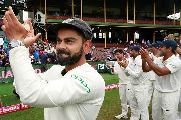 Team India is the number one team in Test cricket
