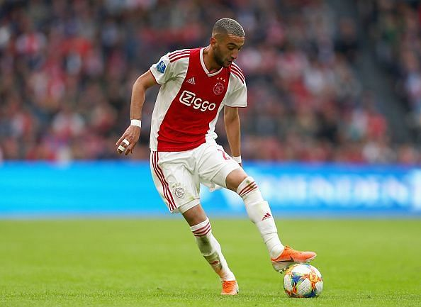 Hakim Ziyech is almost certain to leave Ajax this summer.