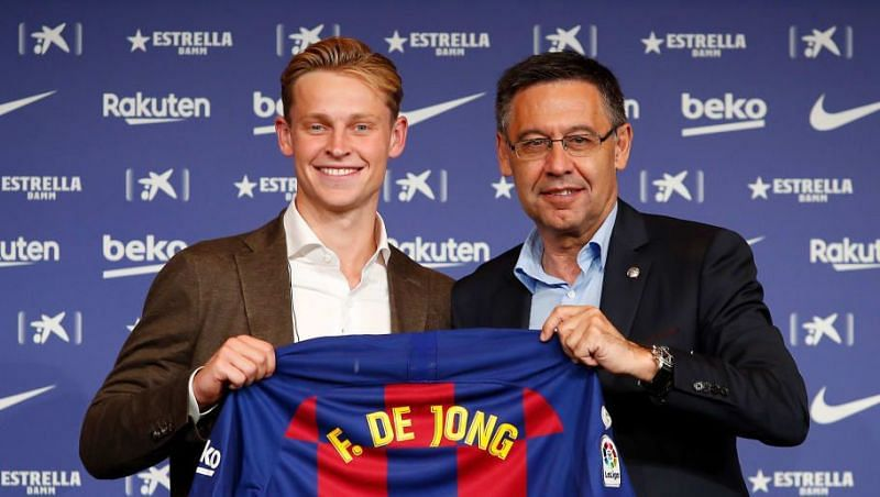Barcelona signed Frenkie de Jong this summer