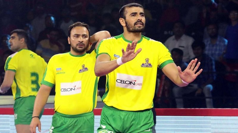 Can the Thalaivas treat their home fans to a win? (Image Courtesy: Pro Kabaddi)