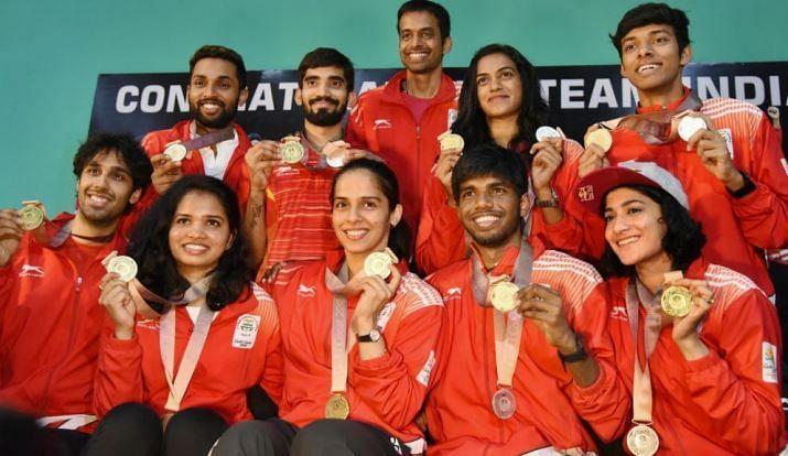 Indian Badminton Contingent