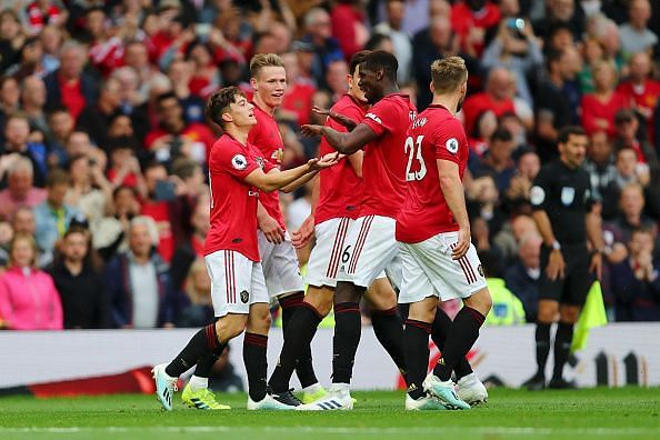 Manchester United hurtled past Chelsea