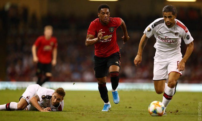 Man United and AC Milan did not qualify for the Champions League