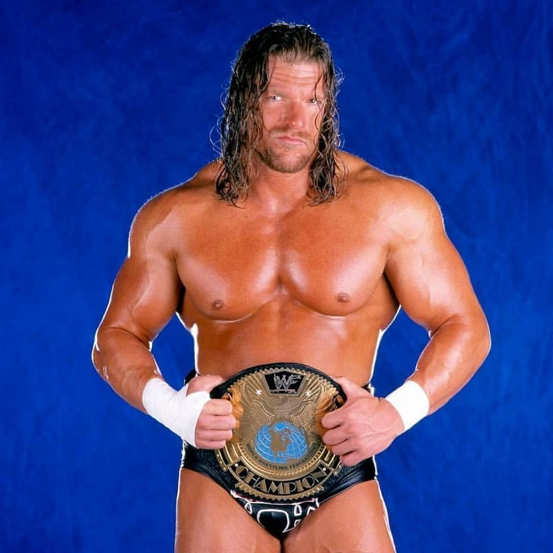 Triple H: Wrestled up a storm as WWE Champion in 1999-2000