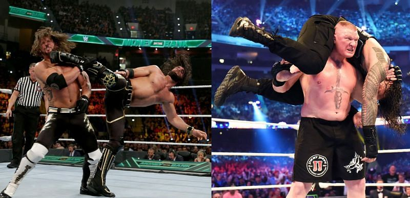 Seth Rollins and AJ Styles delivered at this year