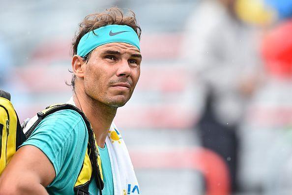 Rafael Nadal in Montreal