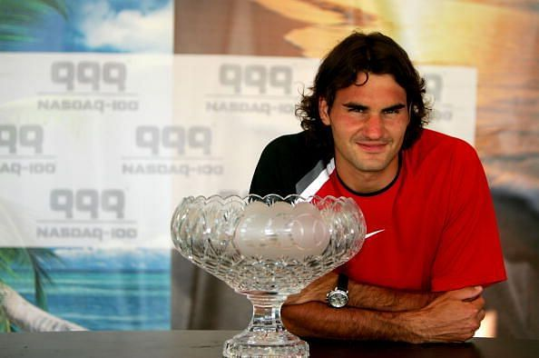 Federer beats Nadal at 2005 Miami for his 6th Masters 1000 title