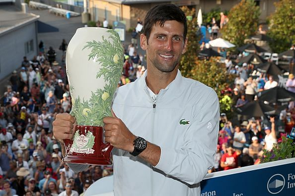Djokovic completes the