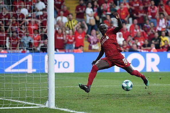 Mane looked incredibly sharp in his midweek game against Chelsea