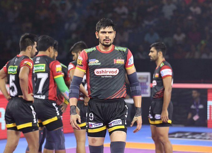 Bengaluru Bulls overcame the Jaipur Pink Panthers in a heated encounter