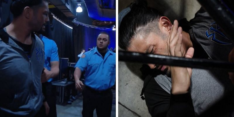 Reigns was ambushed by an unknown assailant during this week