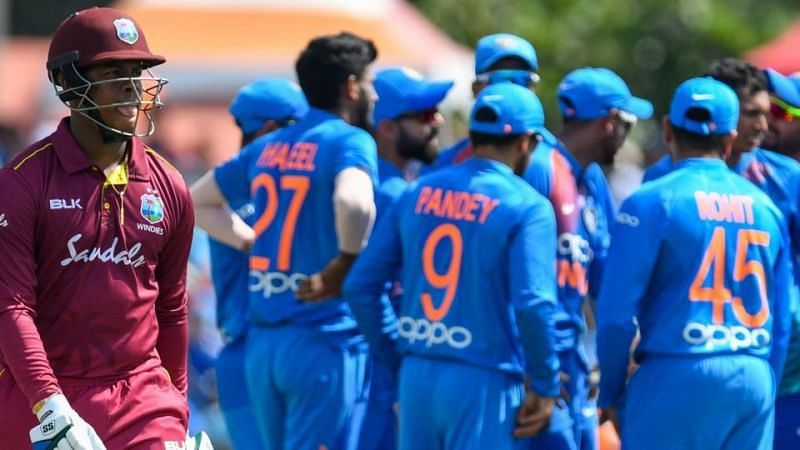India got off to a scratchy start but will fancy a chance to seal the series tonight