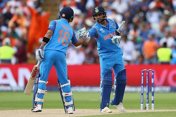 Rohit Sharma or Virat Kohli could be due for a big score tonight