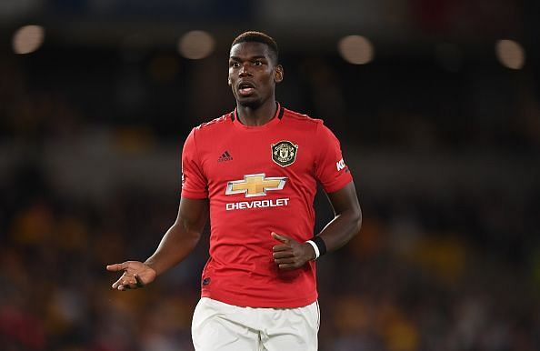 Paul Pogba failed to power United to the top of the table