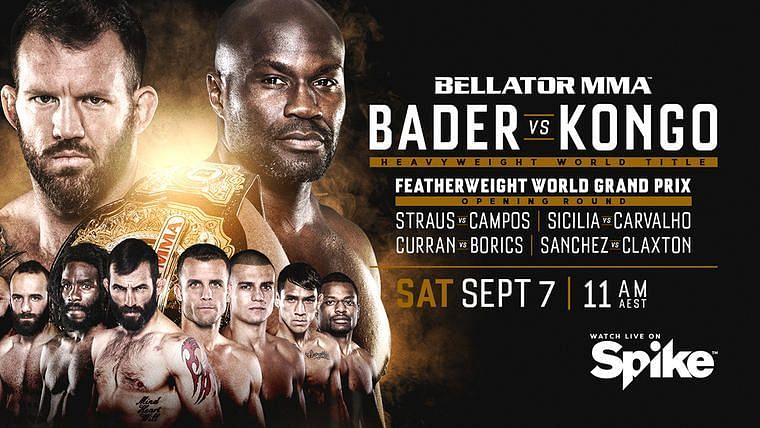 Bellator has some exciting fights lined up for their next event