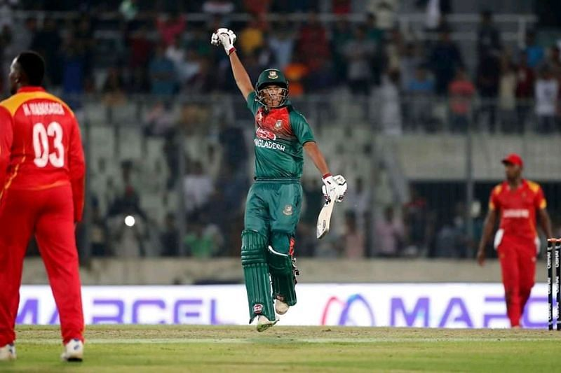 बांग्लादेश ने जिम्बाब्वे को रोमांचक मुकाबले में 3 विकेट से हराया