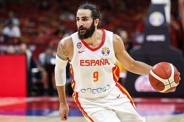 Ricky Rubio was among the best performers at the 2019 FIBA World Cup