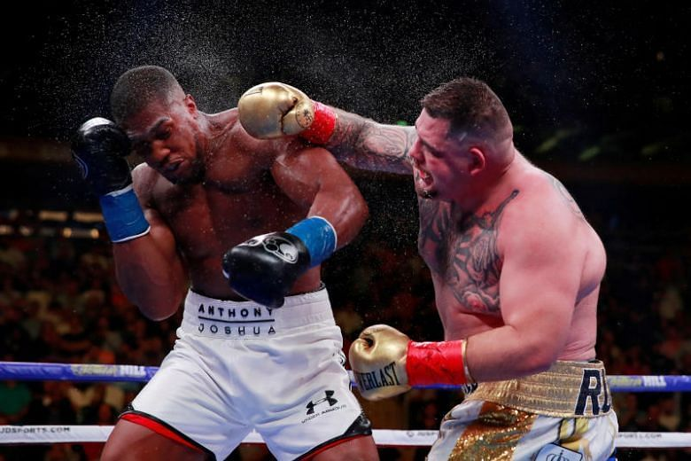 Earlier this year, Andy Ruiz Jr. defeated the defending champion Anthony Joshua at Madison Square Garden.